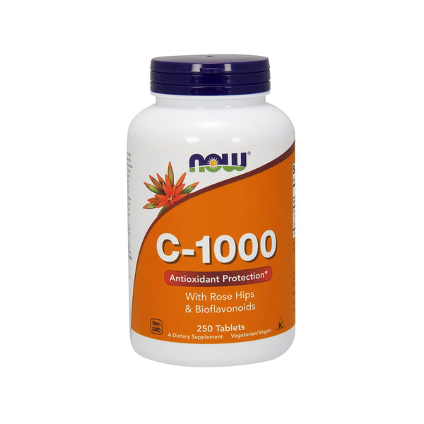 Now Foods, Vitamin C-1000, 250 Tablets - Bloom Concept