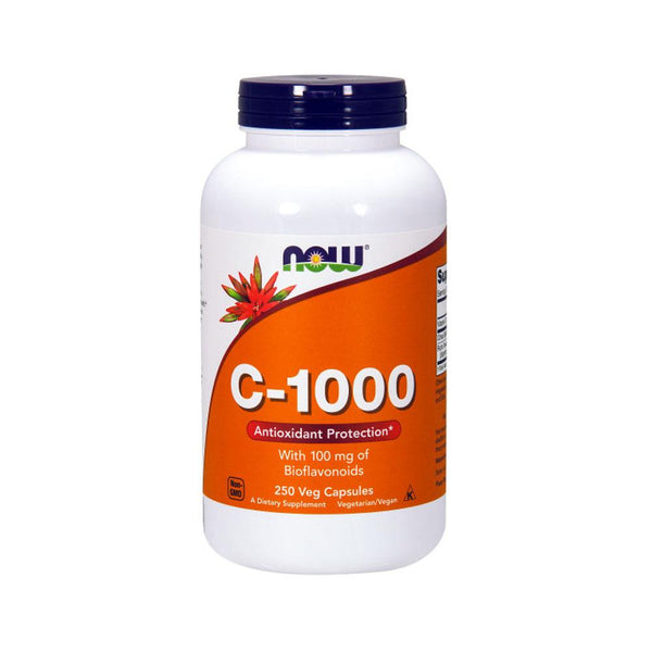Now Foods, Vitamin C-1000, 250 Veg Capsules - Bloom Concept