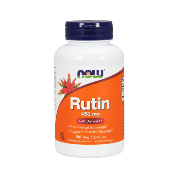 Now Foods, Rutin, 450 mg, 100 Veg Capsules - Bloom Concept