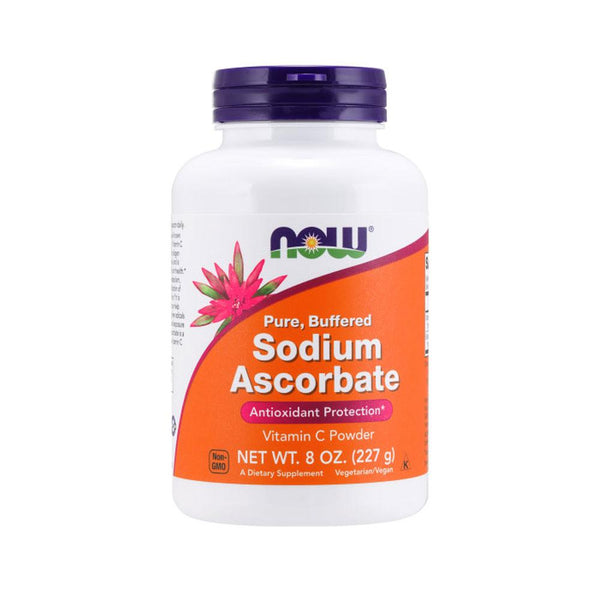 Now Foods, Sodium Ascorbate Powder, 8 oz (227 g) - Bloom Concept