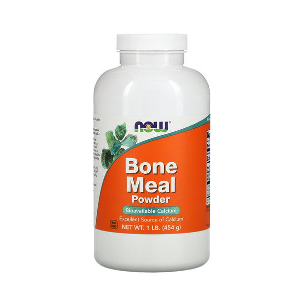 Now Foods, Bone Meal, Powder, 1 lb (454 g) - Bloom Concept