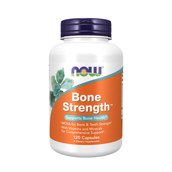 Now Foods, Bone Strength™, 120 Capsules - Bloom Concept