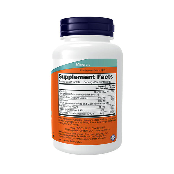 Now Foods, Calcium Citrate, 100 Tablets - Bloom Concept