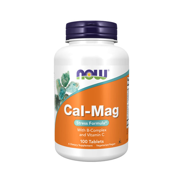 Now Foods, Cal-Mag, Stress Formula, 100 Tablets - Bloom Concept