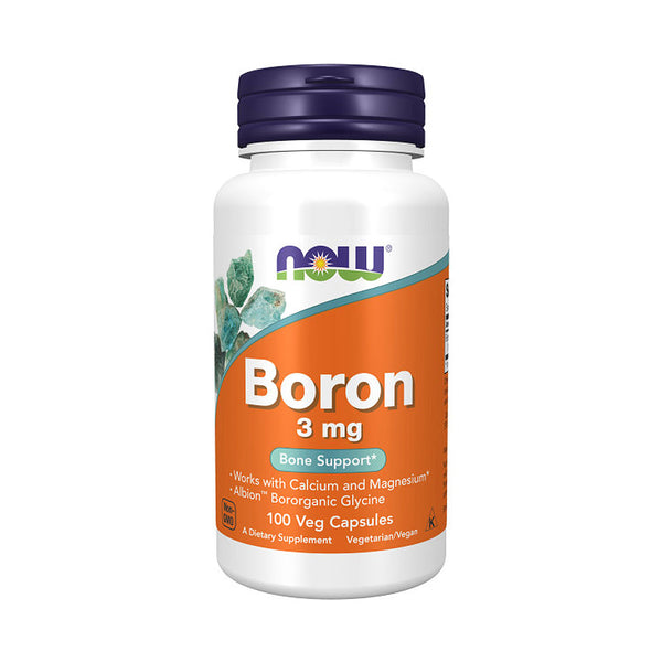 Now Foods, Boron 3 mg,100 Veg Capsules - Bloom Concept