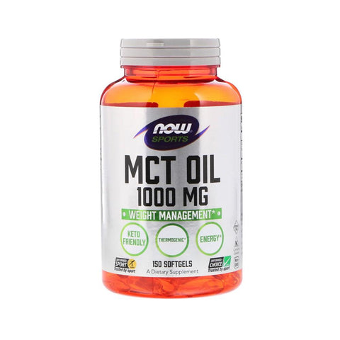 Now Foods, Sports, MCT Oil, 1,000 mg, 150 Softgels - Bloom Concept