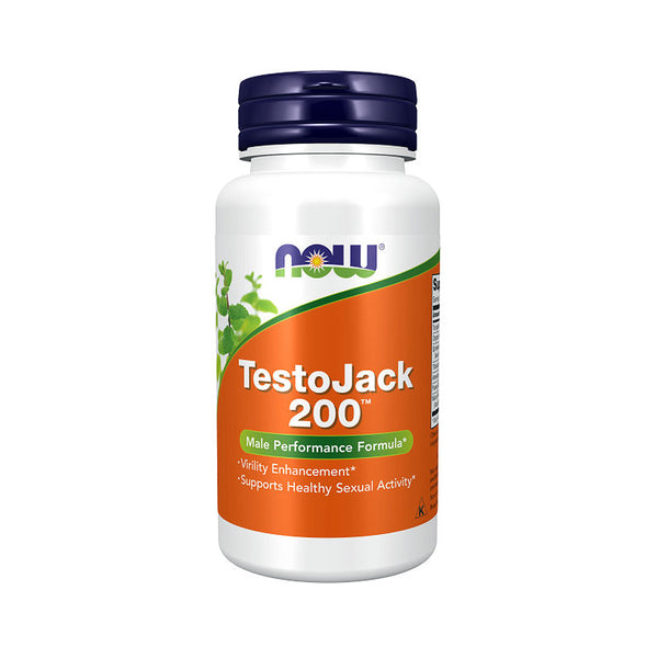 Now Foods, TestoJack 200, 60 Veg Capsules - Bloom Concept