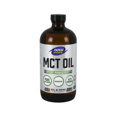 Now Foods, Sports MCT Oil, Pure, 16 fl oz (473 ml) - Bloom Concept