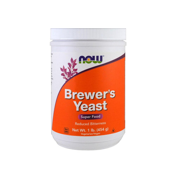 Now Foods, Brewer's Yeast, Super Food, 1 lb (454 g) - Bloom Concept