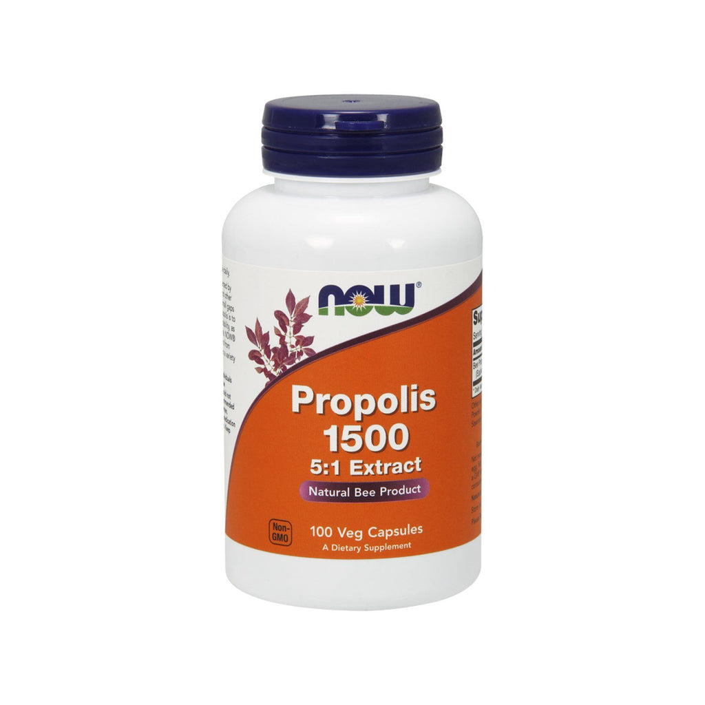 Now Foods, Propolis 1500, 300 mg, 100 Veg Capsules - Bloom Concept