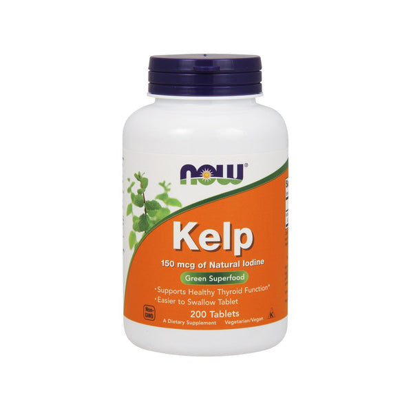 Now Foods, Kelp, 150 mcg, 200 Tablets - by Bloom Concept