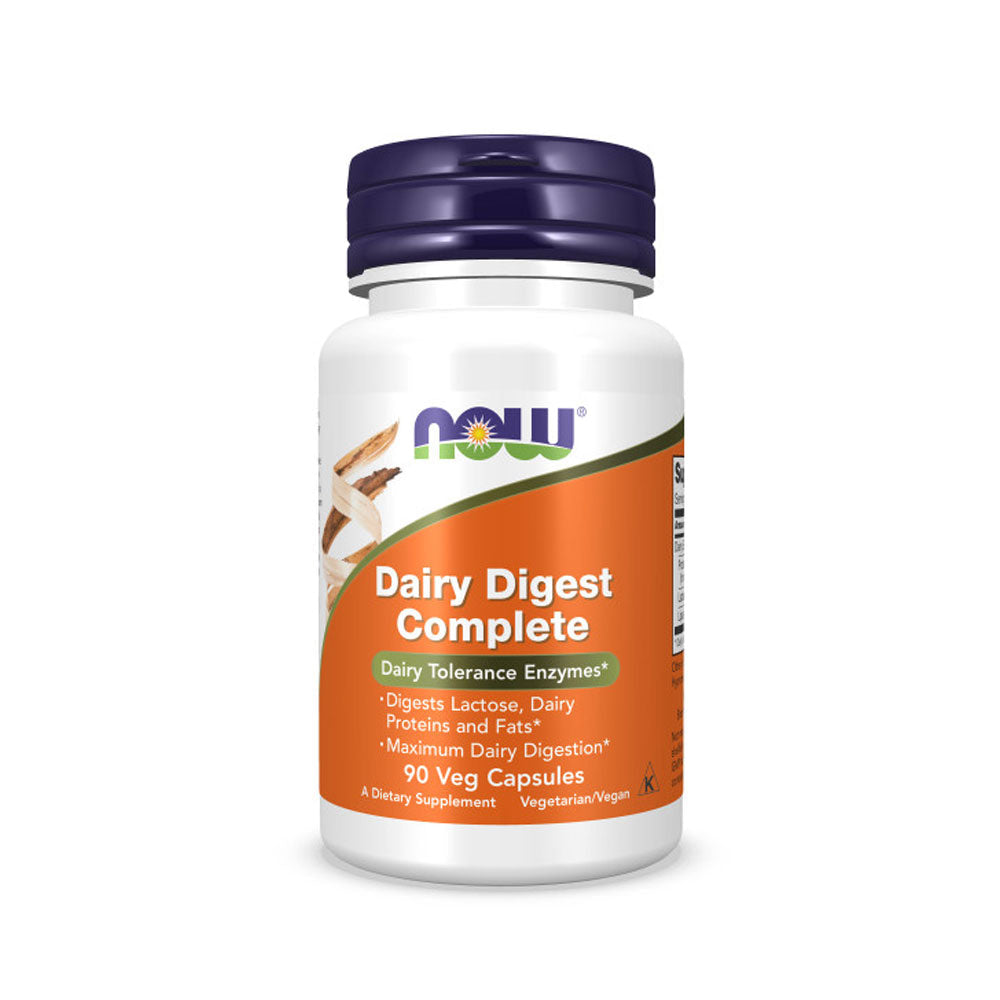 Now Foods, Dairy Digest Complete, 90 Veg Capsules - Bloom Concept