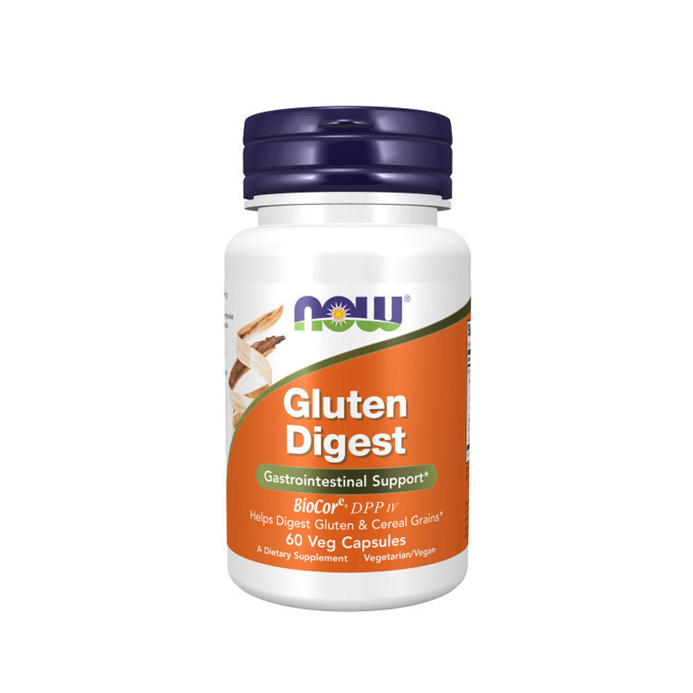 Now Foods, Gluten Digest, 60 Veg Capsules - Bloom Concept