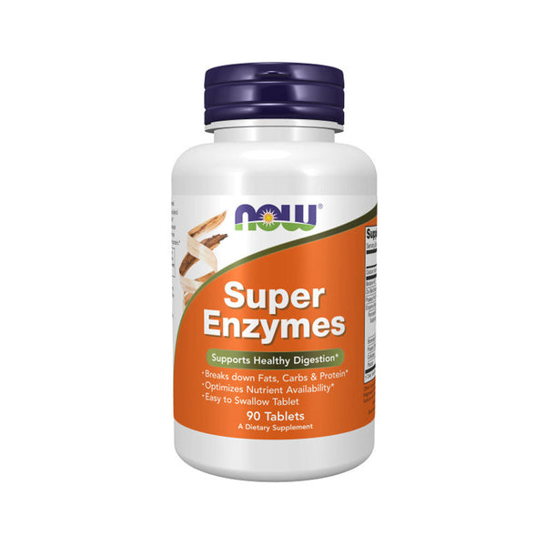 Now Foods, Super Enzymes, 90 Tablets - Bloom Concept