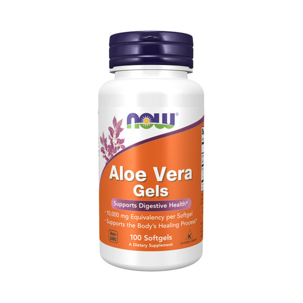 Now Foods, Aloe Vera Gels, 100 Softgels - Bloom Concept
