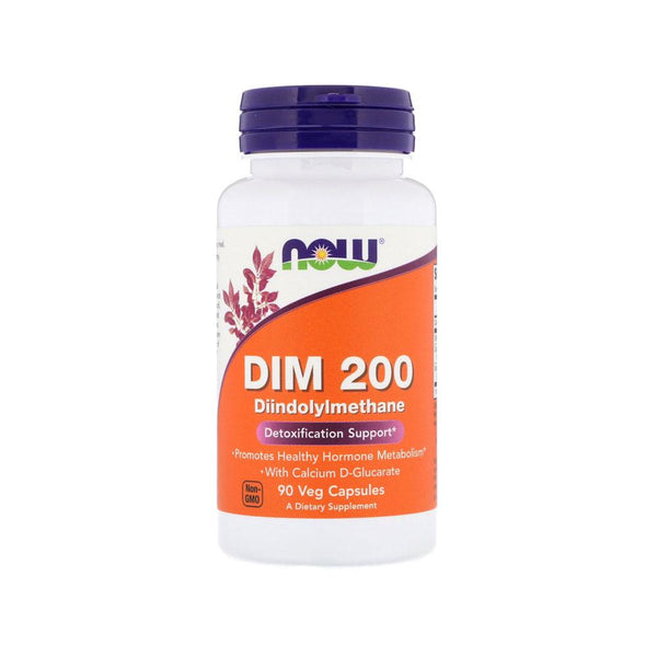Now Foods, DIM 200, 90 Veg Capsules - Bloom Concept