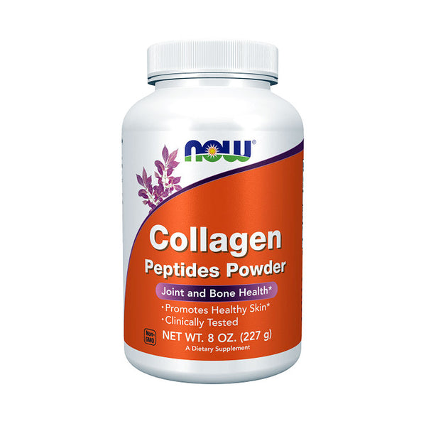 Now Foods, Collagen Peptides Powder, 8 oz (227 g) - Bloom Concept
