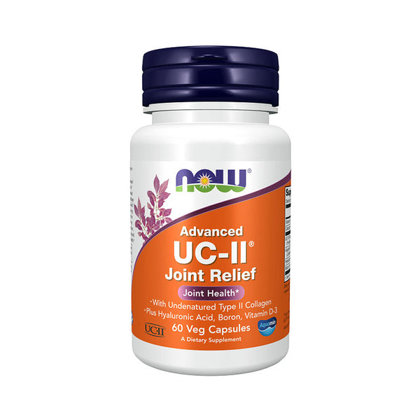 Now Foods, Advanced UC-II Joint Relief, 60 Veg Capsules - Bloom Concept