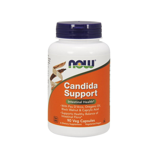 Now Foods, Candida Support, 90 Veg Capsules - Bloom Concept