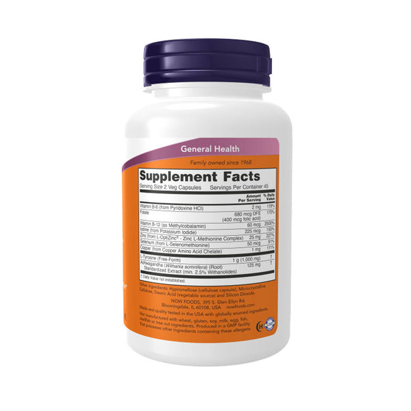 Now Foods, Thyroid Energy, 90 Veg Capsules - Bloom Concept
