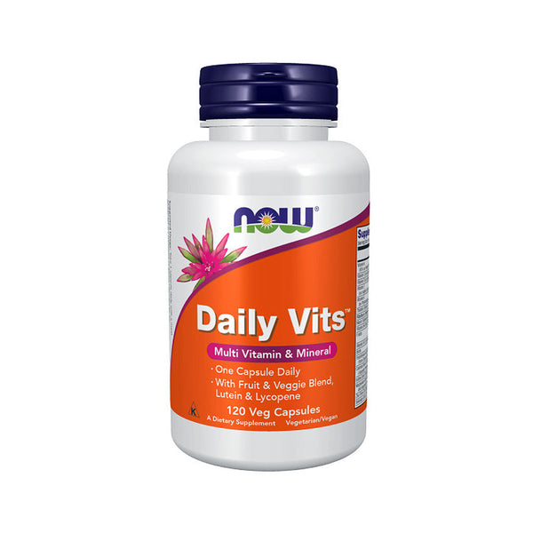 Now Foods, Daily Vits, 120 Veg Capsules - Bloom Concept