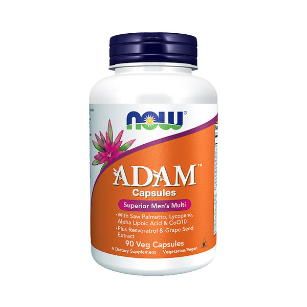 Now Foods, ADAM, Superior Men's Multi, 90 Veg Capsules - Bloom Concept