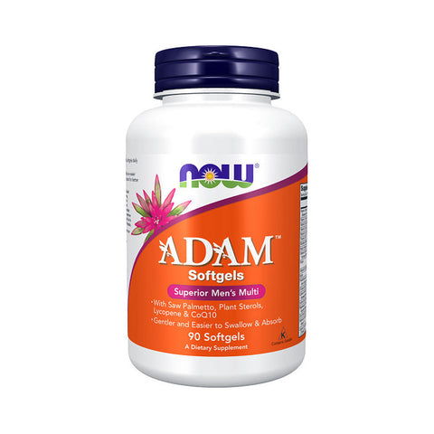 Now Foods, Adam, Superior Men's Multi, 90 Softgels - by Bloom Concept
