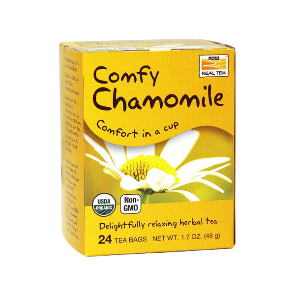 Now Foods, Organic Chamomile, 24 Tea Bags, 2 g Each - Bloom Concept