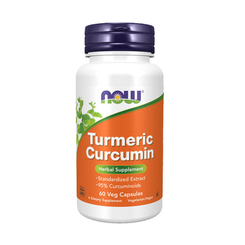Now Foods, Curcumin, 60 Veg Capsules - Bloom Concept