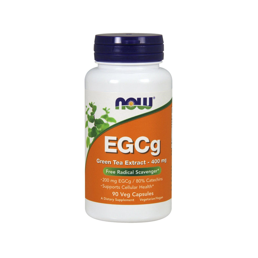Now Foods, EGCg, Green Tea Extract, 400 mg, 90 Veg Capsules - Bloom Concept