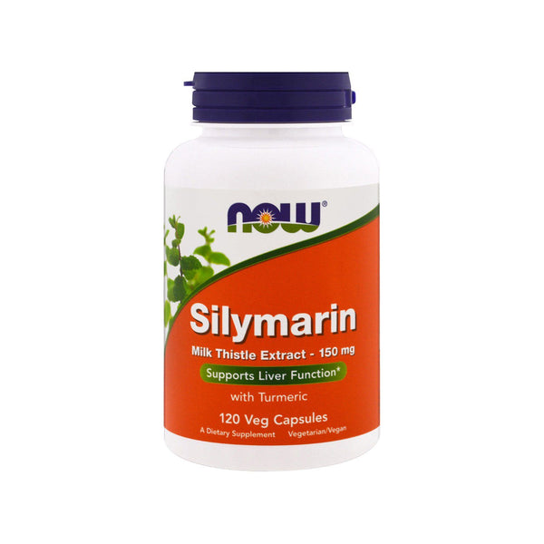 NOW Foods Silymarin Milk Thistle Extract 150 mg, 120 Veg Capsules - Bloom Concept