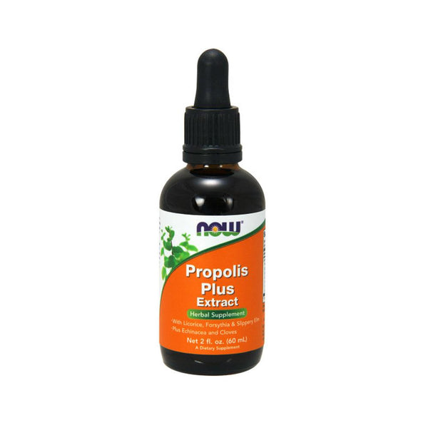 Now Foods, Propolis Plus Extract, 2 fl oz (60 ml) - Bloom Concept