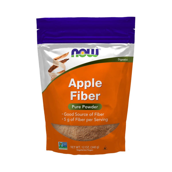 Now Foods, Pure Apple Prebiotic Fiber, 12 oz (340 g) - Bloom Concept