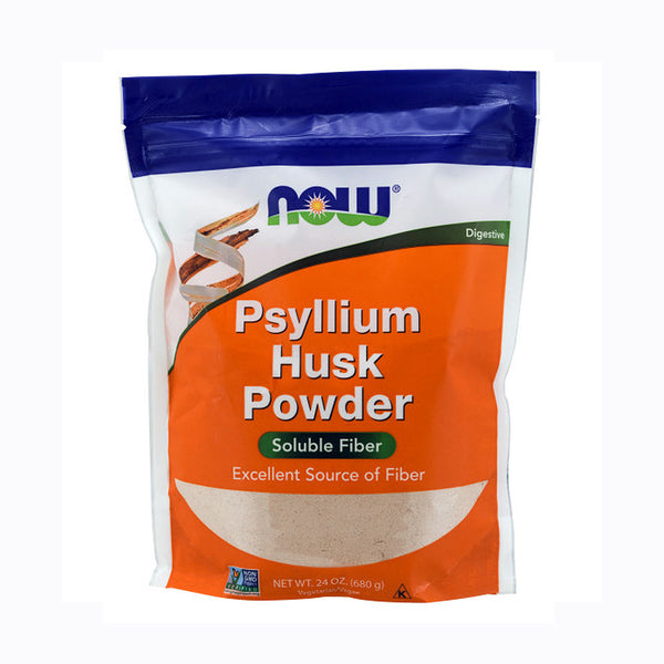Now Foods, Psyllium Husk Powder, 24 oz (680 g) - Bloom Concept