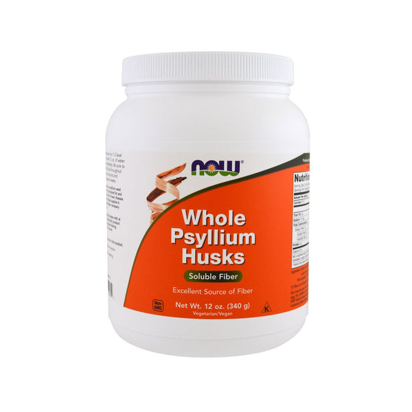 Now Foods, Whole Psyllium Husks, 12 oz (340 g) - Bloom Concept