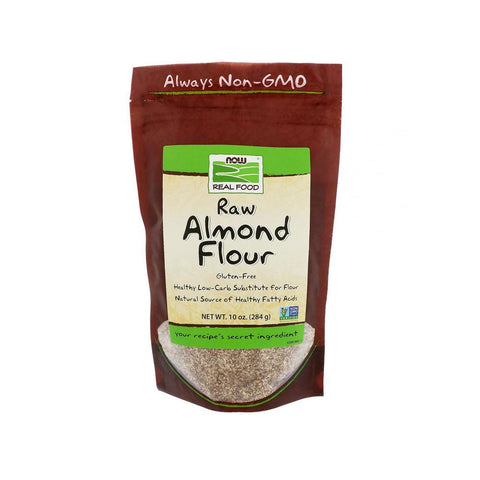 (P) Now Foods, Real Food, Raw Almond Flour, 10 oz (284 g) - Bloom Concept