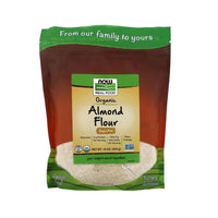 Now Foods, Real Food, Organic Almond Flour, 16 oz (454 g) (Best by 05/21) - Bloom Concept