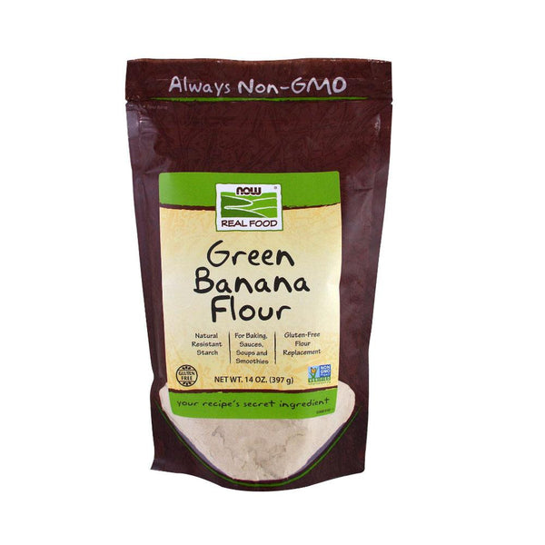 Now Foods, Green Banana Flour, 14 oz (397 g) - Bloom Concept