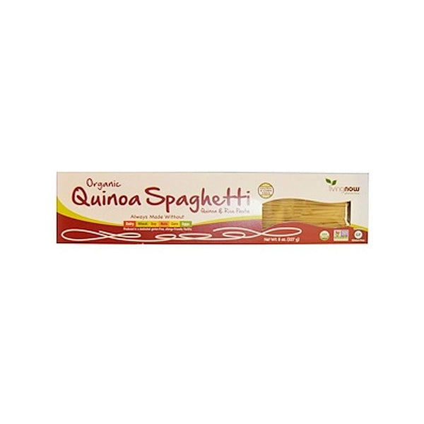 Now Foods, Real Food, Organic Quinoa Spaghetti, 8 oz (227 g) - Bloom Concept