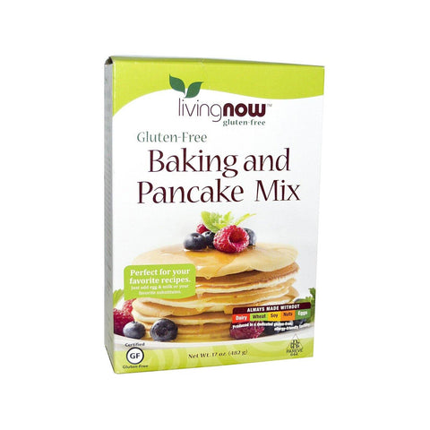 Now Foods, Gluten-Free Baking and Pancake Mix, 17 oz (482 g) - Bloom Concept