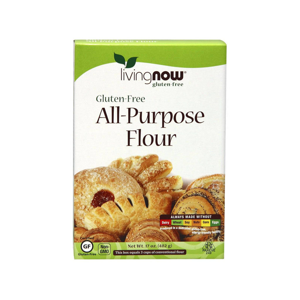Now Foods, All-Purpose Flour, Gluten-Free, 17 oz (482 g) - Bloom Concept