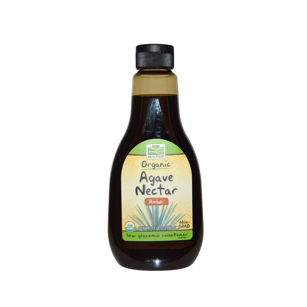 Now Foods, Real Food, Organic Agave Nectar, Amber, 23.28 oz (660 g) - Bloom Concept