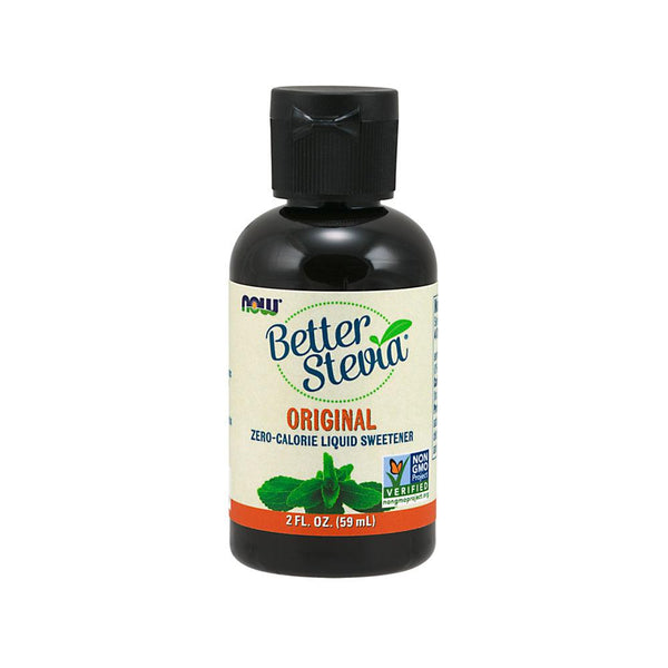 Now Foods, Better Stevia, Liquid Sweetener, Original, 2 fl oz (60 ml) - Bloom Concept