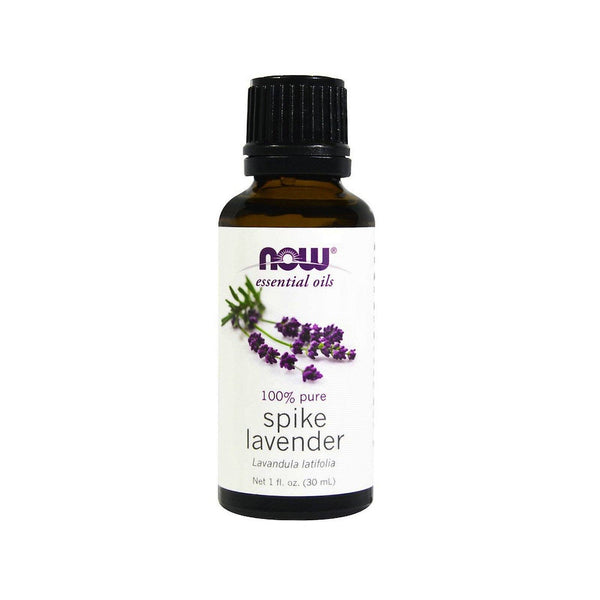 Now Foods, Essential Oils, Spike Lavender, 1 fl oz (30 ml) - by Bloom Concept