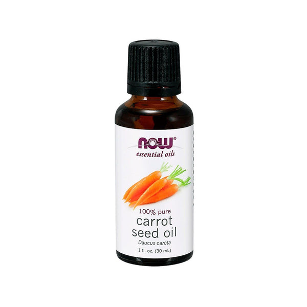 Now Foods, Essential Oils, Carrot Seed Oil, 1 fl. oz. (30 ml) - Bloom Concept
