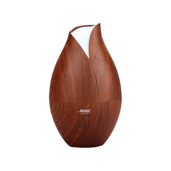 Now Foods, Ultrasonic Faux Wood Oil Diffuser - Bloom Concept