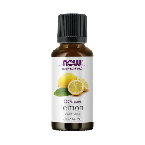 NOW Foods Essential Oils, Lemon, 1 fl oz (30 ml) - by Bloom Concept