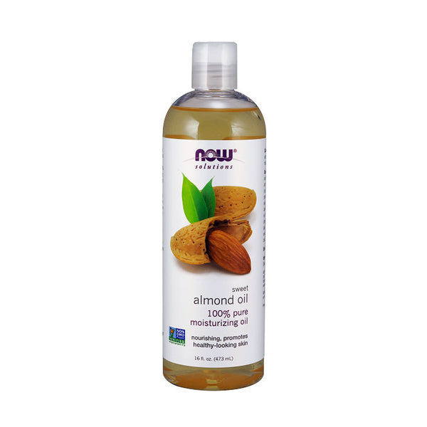NOW Foods Sweet Almond Oil (100% Pure) 16oz 473ml - by Bloom Concept