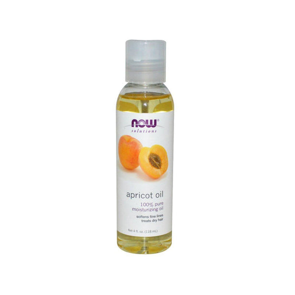 NOW Foods Apricot Kernel (100% Pure) Oil 4oz 118ml - Bloom Concept