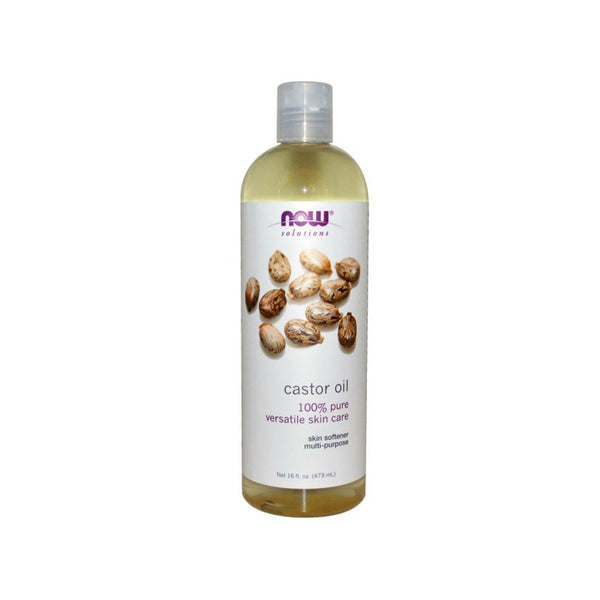 NOW Foods Castor Oil 16oz 473ml - Bloom Concept